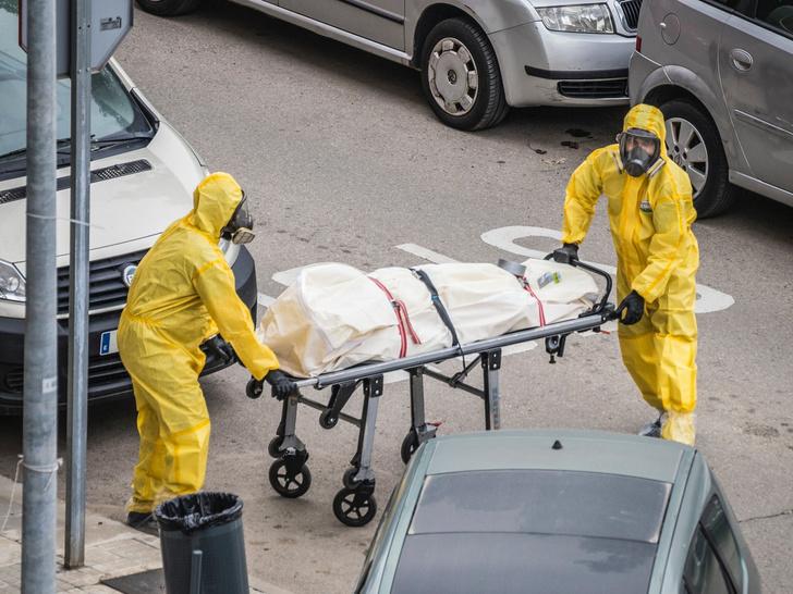 в Петербурге резко выросла смертность от COVID-19