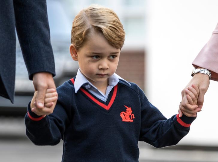 Фото №4 - Юные бунтари: принц Джордж и принцесса Шарлотта уже не соблюдают протокол