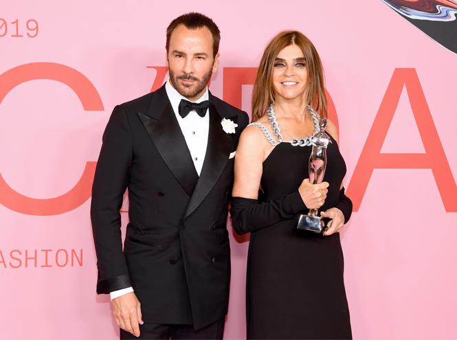Фото №3 - Лучшие звездные образы на ковровой дорожке CFDA Fashion Awards 2019