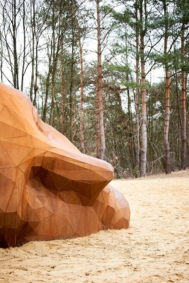 Фото №3 - Скульптура в песчаных дюнах Бельгии