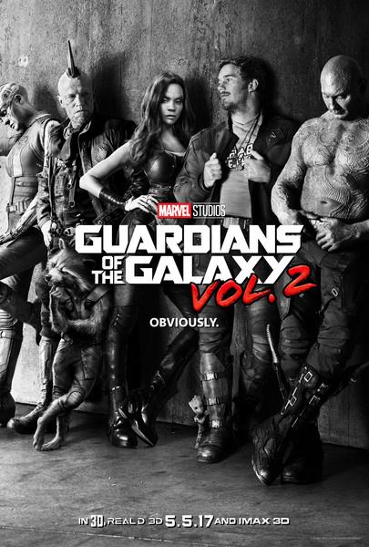 Постер к фильму стражи галактики 2