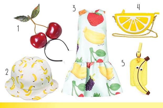 Фото №1 - Топ-10: Вещи с фруктами и в виде фруктов