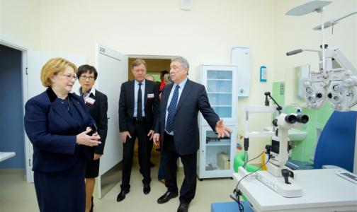 Фото №1 - В Петербурге открыли новую поликлинику - в бывшей МСЧ-144