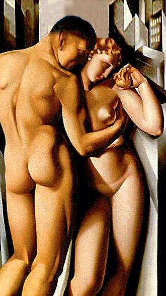 Фото №19 - Галерея: как изображали Адама и Еву последние  2000 лет