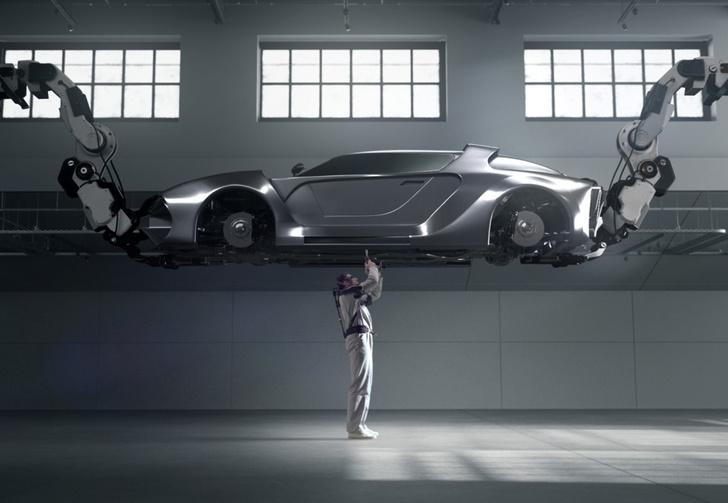 Фото №1 - В Hyundai показали легкий экзоскелет для тяжелых работ (видео)