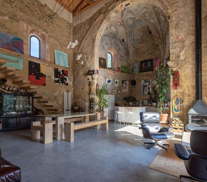 Фото №5 - Дом в старой церкви в Испании