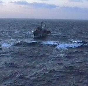Фото №1 - Российские моряки готовятся к спасательной операции в Индийском океане
