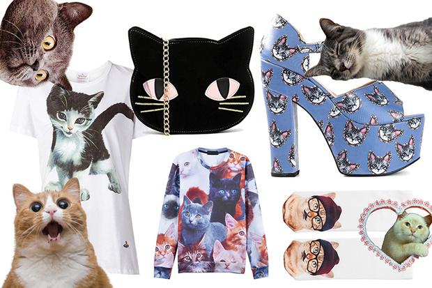 Фото №1 - Toп-10: Вещи с котиками
