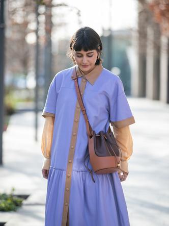 Фото №19 - Горная лаванда: 5 способов носить самый романтичный цвет