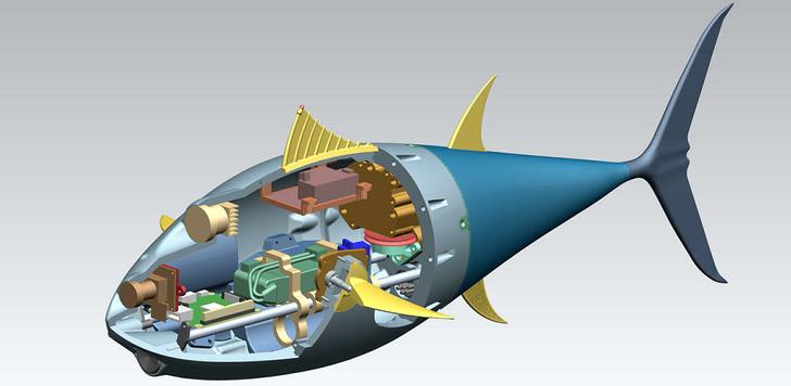 Фото №2 - В России создали первого подводного биоморфного робота