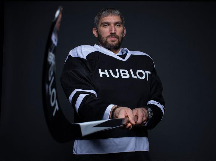 Фото №1 - Хоккеист Александр Овечкин стал другом бренда Hublot