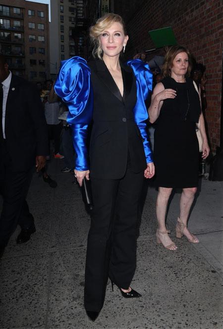 Кейт Бланшетт в Нью-Йорке