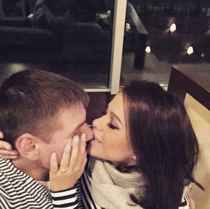 Елена Темникова и ее муж