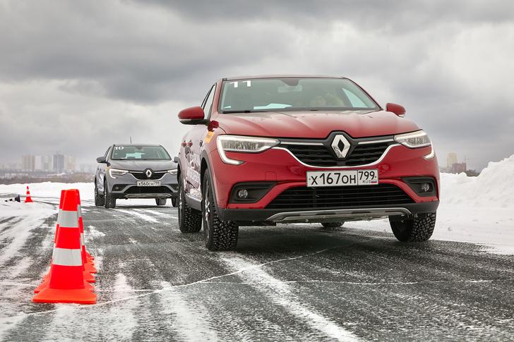 Фото №3 - Зимние игры с Renault Arkana