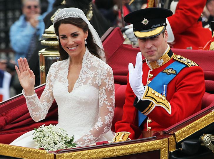Фото №1 - Факты о свадьбе Кейт Миддлтон и принца Уильяма, о которых вы могли не знать