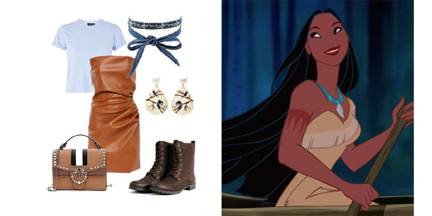 Фото №4 - Что носить весной: 8 модных образов в стиле Принцесс Disney