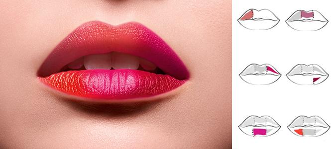 Фото №6 - Градиент и «радужные» губы: как еще носить новую помаду Matte Shaker от Lancôme