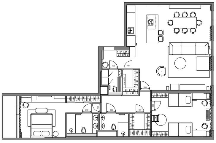 Фото №20 - Квартира 122 м² в Москве для семьи с двумя детьми и двумя собаками