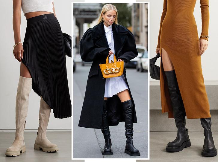Фото №1 - Самая модная обувь сезона: где искать идеальные ботфорты (и с чем их носить)