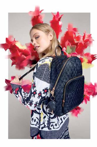Фото №4 - Модная эклектика в новой осенне-зимней коллекции Desigual