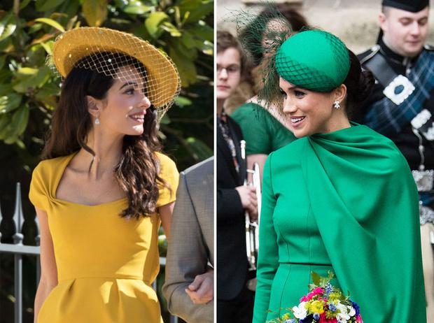 Фото №1 - Минус одна подруга: что не поделили герцогиня Меган и Амаль Клуни