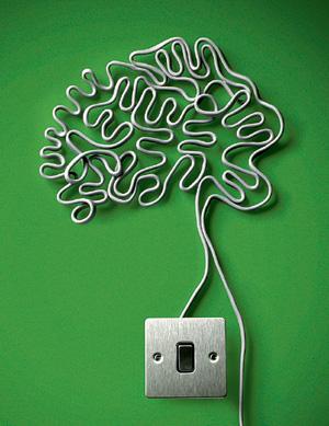 Фото №1 - Куда уходит электрический заряд, генерируемый клетками мозга?