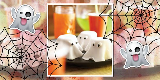 Приведение с ветчиной и сыром простой рецепт хэллоуин
