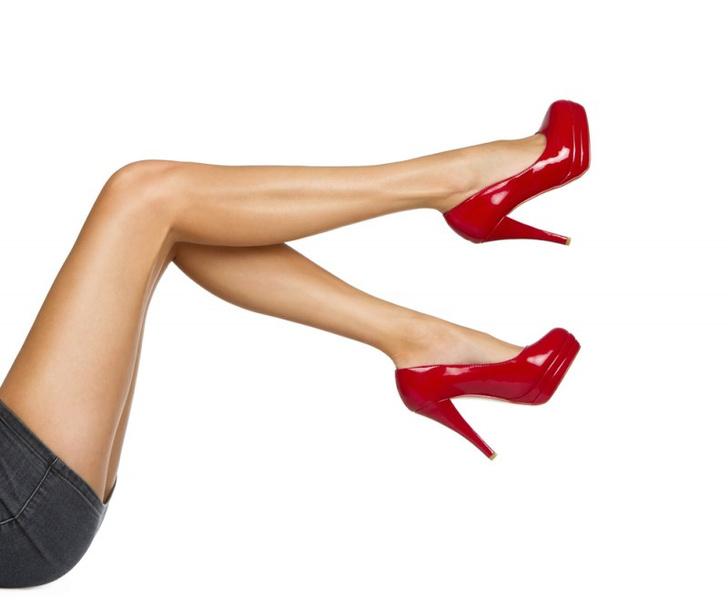 Измерение длины ног