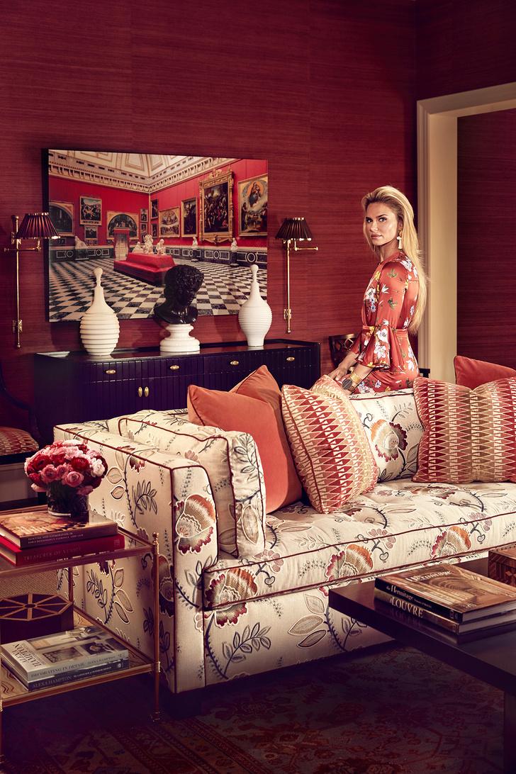 Фото №1 - Коллекция мебели Алексы Хэмптон для Theodore Alexander