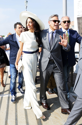 Фото №9 - Джордж и Амаль Клуни: история любви