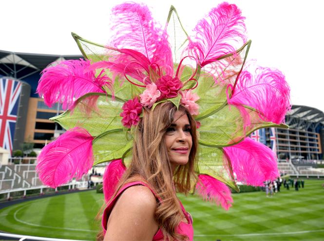 Фото №3 - Лучшие образы на открытии Royal Ascot 2019 (и несколько безумных шляп)