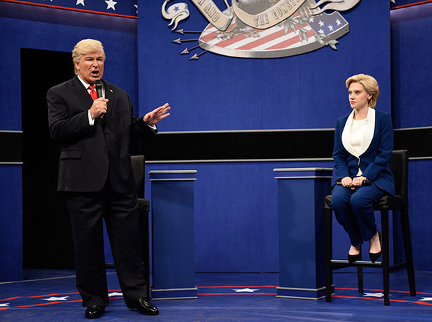 Фото №6 - Пошутить над Трампом: звезды Emmy-2017 «троллят» президента