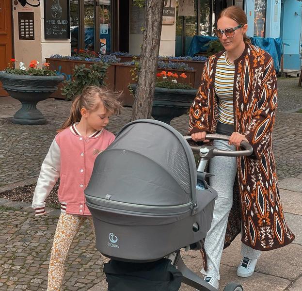 Мерьем Узерли родила вторую дочку