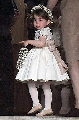 Фото №16 - Принцесса Шарлотта и принц Джордж на свадьбе Пиппы Миддлтон (фото)