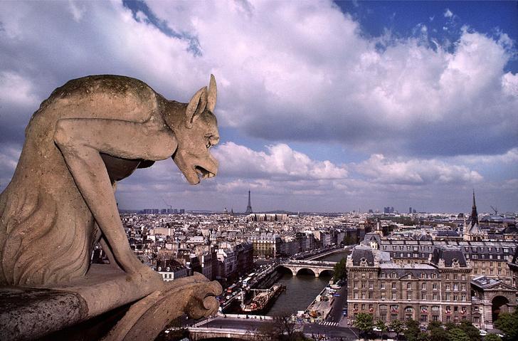 Фото №1 - В Париже отмечается туристический бум