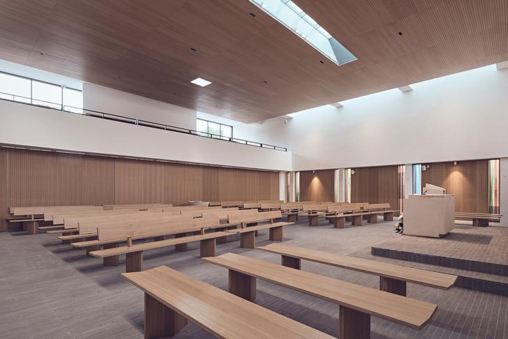 Фото №6 - Минималистская церковь во Франции: проект Enia Architectes