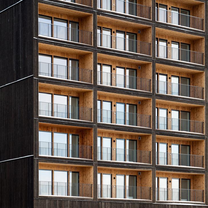 Фото №3 - В Швеции построили полностью деревянную восьмиэтажку (фото)