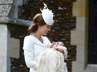 Фото №8 - Первые официальные фото с крестин принцессы Шарлотты