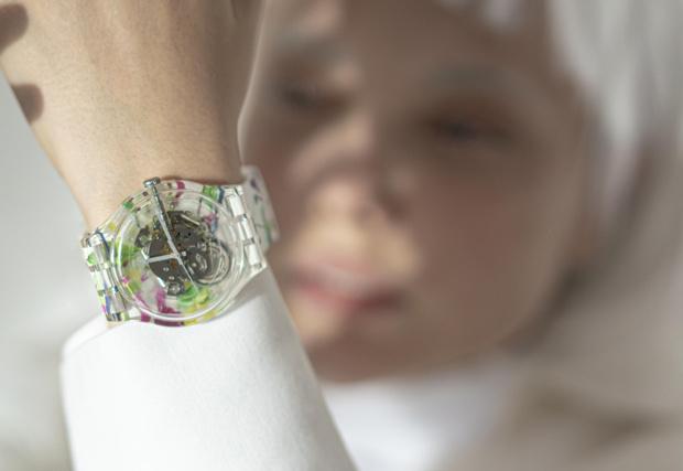 Фото №5 - Новая российская коллаборация Swatch x YOU: часы с креативом художницы Эллен Шейдлин