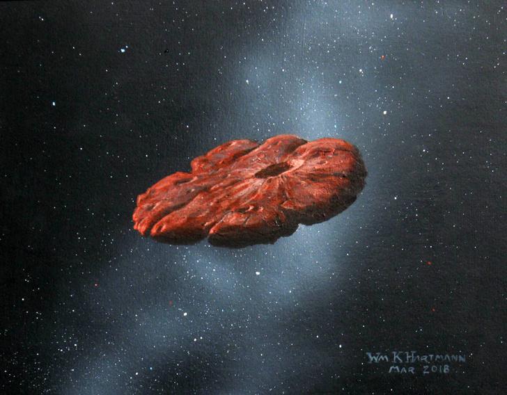 Фото №1 - Ученые установили происхождение астероида Оумуамуа