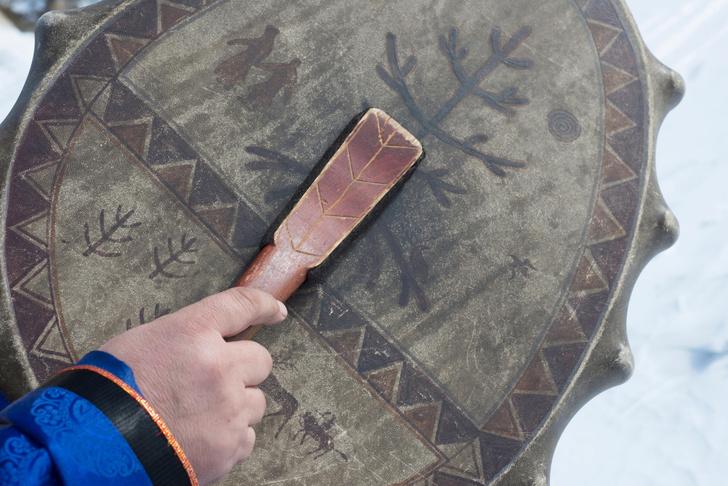 Фото №5 - Круговой обзор: секреты одеяния и атрибутов сибирских шаманов