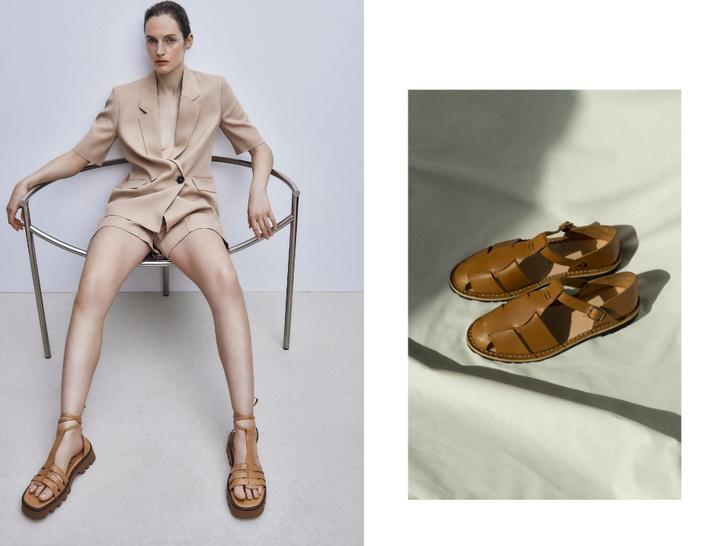 Фото №1 - Рыбацкие сандалии: с чем носить самую модную обувь лета
