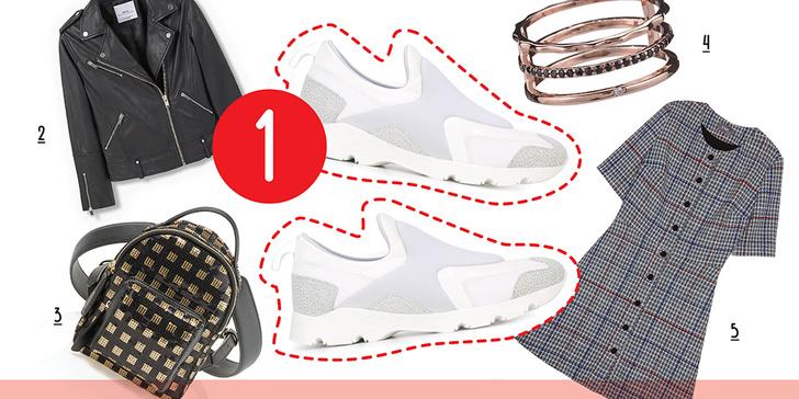 Фото №3 - 5 способов носить белые кроссовки