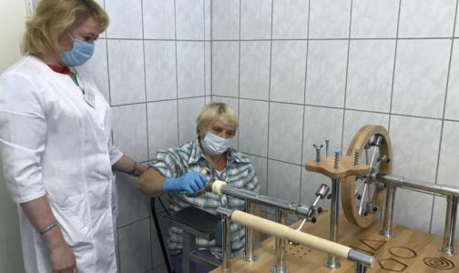 Фото №1 - Петербурженка «выиграла» оборудование для помощи пациентам после инсульта