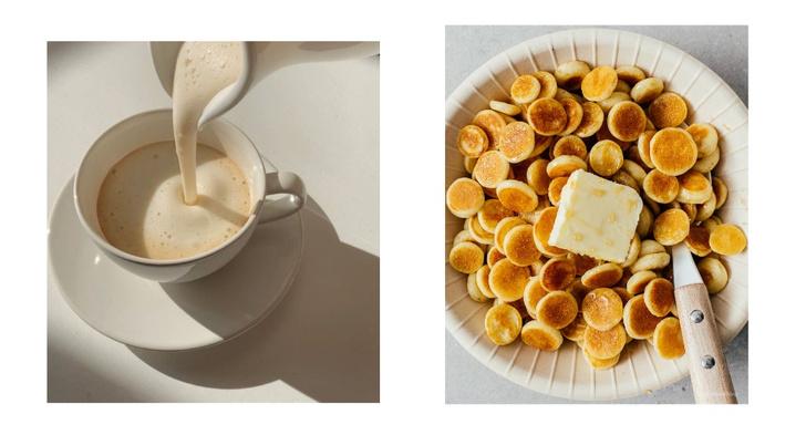 Фото №1 - Фуд-тренд: мини-панкейки с ванильным соусом и клубникой, которые заменят привычные оладушки