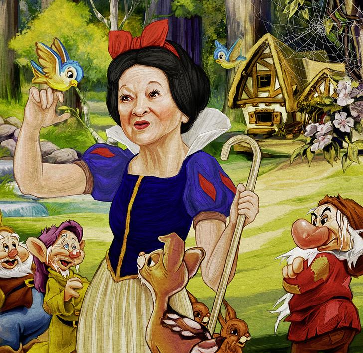 Фото №1 - Принцесса за 80: История Белоснежки