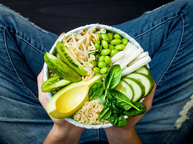 зеленый день питание меню, пример, отзывы, зеленая диета