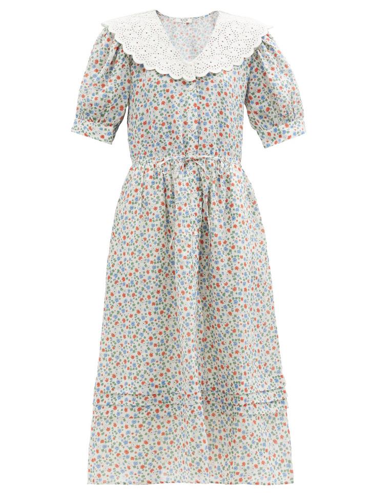 Фото №10 - Летом всем нам нужно платье в цветочек. Вот 20 нежных вариантов