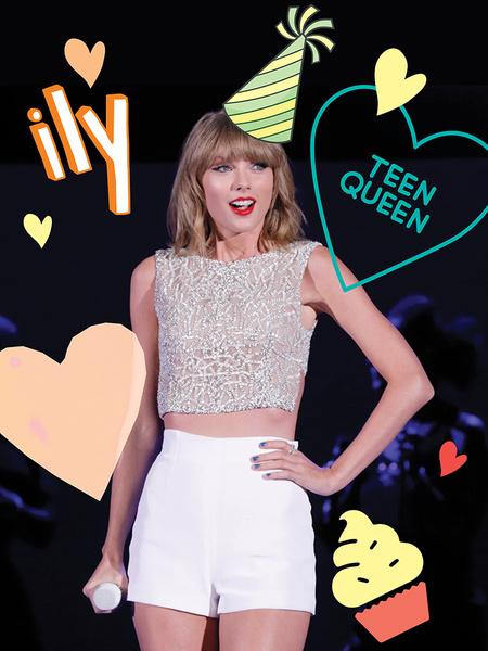 Фото №1 - Как Тейлор Свифт отметила свой день рождения