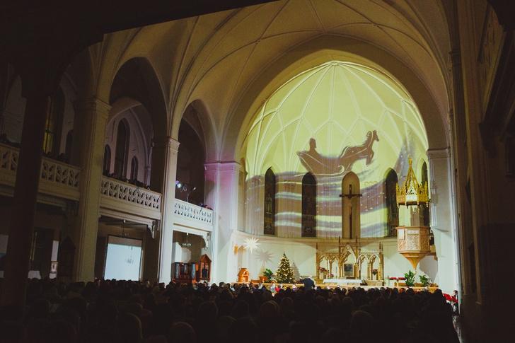 Фото №1 - Джаз, Щелкунчик и рождественское настроение в Кафедральном
